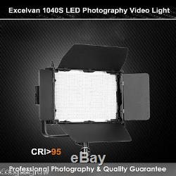 1040 Led Photo Studio Continuous Lighting CRI95+ 7680LM Dimmer Video Light Panel