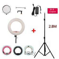 18'' FD480II LED Ring Light Dimmable Studio Beauty Lamp For MakeupVideo Shooting