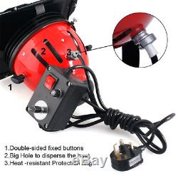 2400W Red Head Continuous Studio Lighting Kit Record Film Dimmer Barndoor Stand