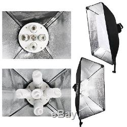 2850W Photography Continuous Lighting Soft Box Softbox Studio Kit Boom Reflector