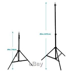 2875W Photography Studio Continuous Softbox Lighting Boom Arm Light Stand Kit