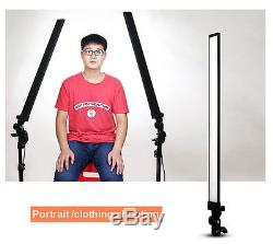 2x LED 30W Photography Studio Softbox Continuous Dimmable Lighting Light Stand