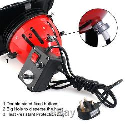 3 x 800W Red Head Continuous Lighting Kit With Dimmer Studio Set Carrybag