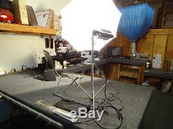 4 Light Lowel Studio Lighting Kit with 3 Tota, 1 Omni, 2 Stands Xtra Lamps 4 Cords