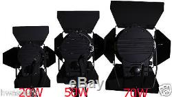 50W LED Fresnel Spot Continuous Focus Light Daylight dimmable spotlights Studio