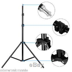 900W Photo Studio Video Lighting Kit Photography Continuous Soft Box Stand New
