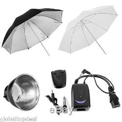 900W Studio Photo Flash Strobe Lamp Photography Continuous Lighting Stand Kit UK