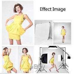 BPS Photography Continuous Soft Box Lighting Kit Photo Video Studio Control