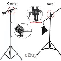 BPS Photography Continuous Soft Box Lighting Kit Photo Video Studio Control Sepa