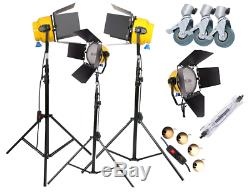 Blonde Light 2000W Continuous Yellow Tungsten Dimmer Spot Flood Photo Studio UK