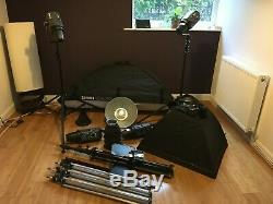 Bowens Studio lighting kit with loads of extras