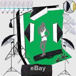 CLKIT7 7x150W Portraint Professional Photo Studio continuous lighting 2x3 Meter