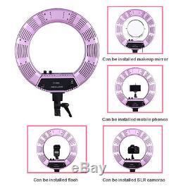 Dimmable 50W 18 480PCS LED Studio Ring Light Beauty Make Up Selfie Video Photo