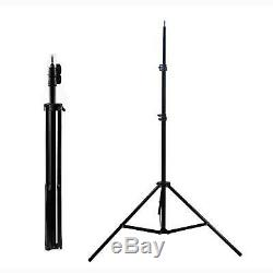 Dimmable Redhead 800W Studio Continuous Tungsten Flood Spot Light Stand Kit UK