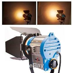 Dimmable Spotlight 300W Fresnel Tungsten Kit Professional Lighting Studio Video