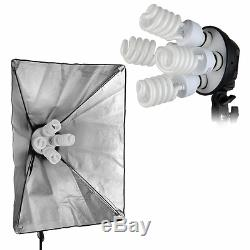 Excelvan 2000W Studio Photography Continuous Softbox Lighting Kit with Stand 3