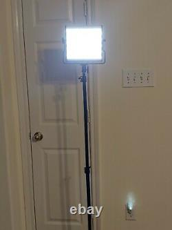 FOSITAN L4500 Studio Photography Bi-Color led Video 2Light withTripods and acc. BN