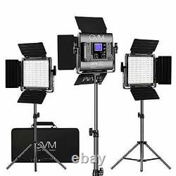 GVM RGB LED Video Lighting Kit, 800D Studio Video Lights with APP Control