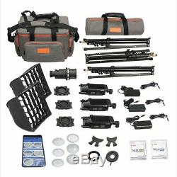 Godox S30-D Three-light Kit Focusing LED Studio Photo Video Continuous Lighting