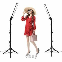 Heorryn Photography Studio LED Lighting Kit with 192PCS LED 3200-5500K Dimmable