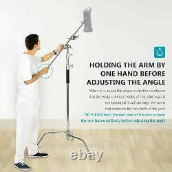 High quality C Stand Light Stand with Gobo Boom Arm Kit f Studio Photography UK