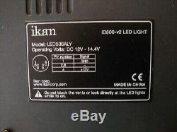 Ikan LED Studio Light with Touchscreen DMX Control ID 500-V2