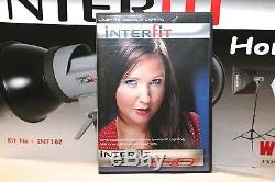 Interfit EX150 Home Studio Lighting Kit Used IN EXCELLENT CONDITION