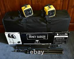 Interfit The Honey Badger 320 2 Light Studio Kit with Case & Accessories (#8641)