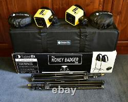 Interfit The Honey Badger 320 2 Light Studio Kit with Case & Accessories (#8642)