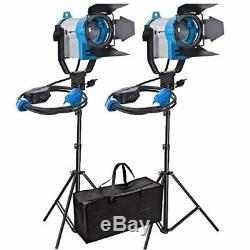 Junior Spotlight Fresnel Tungsten 150W Professional Studio Lighting Photo Kit UK