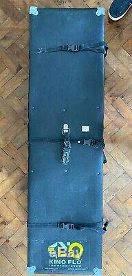 Kino Flo 4 Bank 4ft Lighting System with hard case Film and TV studio location