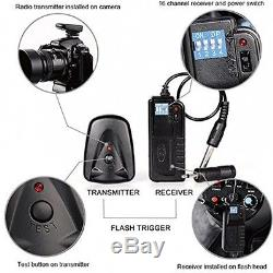 Neewer 750W(250W x 3)Professional Photography Studio Flash Strobe Light Kit
