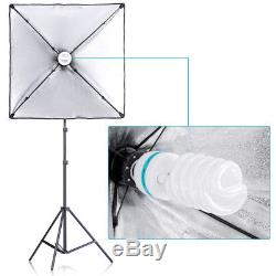 Neewer Backdrop Support System & Umbrellas Softbox Lighting Kit for Photo Studio