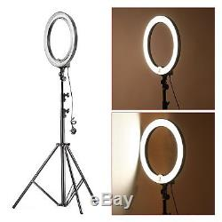 Neewer Camera Photo Studio 75W Dimmable Ring Fluorescent Flash Light Kit