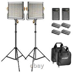 Neewer LED 480 Video Light and Stand Kit with Battery and Charger for Studio