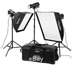 PROFOTO studio lighting extended D1 kit (4 heads) with the air remote