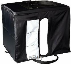 Photo Studio Box Portable Foldable with LED Light 25 x 30 x 25 Collapsible NEW