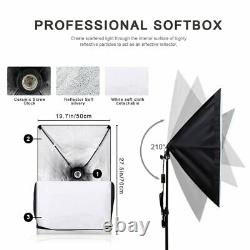 Photography Background Support SoftBox 2Pcs Kit Photo Studio With Accessories