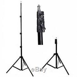 Pro 1600W Studio Red Head Continuous Lighting Kit Set + Dimmer for Video Filming