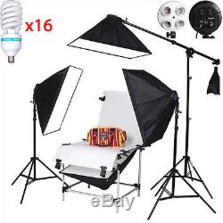 Product 16150W 100x200cm Shooting Table Set Photo Studio Continuous LightingKIT