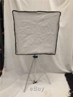 Promaster Lighting Kit 2 LED Studio Light VL-306 with Softbox Attachment & Stand
