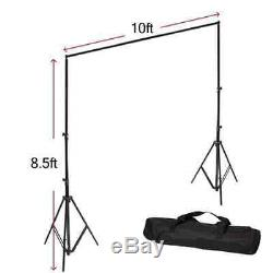Studio Background Set New Photography Pictures Cameras Material Lighting Kits