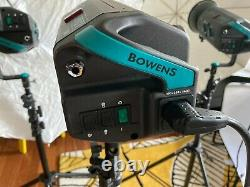 Studio Light kit 3x Bowens Esprit 500 + accessories (used in good condition)