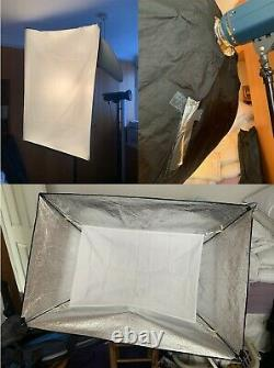 Studio Lighting System (Jinbei) model L-400F and extra accessories NOW BUY NOW