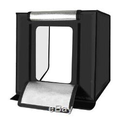 Studio Photography Box Lighting Set Kit for Products Photo Video 40cm 30W