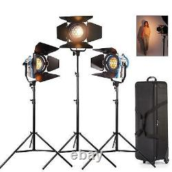 Studio Spotlight 650W Dimmable Professional Fresnel Tungsten Photo Lighting UK