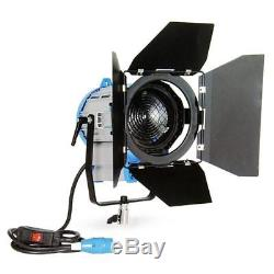 Upgrade Pro 650W LED Fresnel Video Photography Studio Lighting BiColor Light