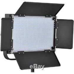 Vidpro LED-604 Studio Video Lighting Kit withLED Light Stand Cases & Soft Diffuser